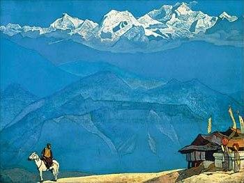 Remember - tempera on canvas - Nicholas Roerich - 1924