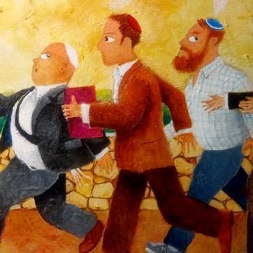 Biblical art blog and related Jewish art news from Darius